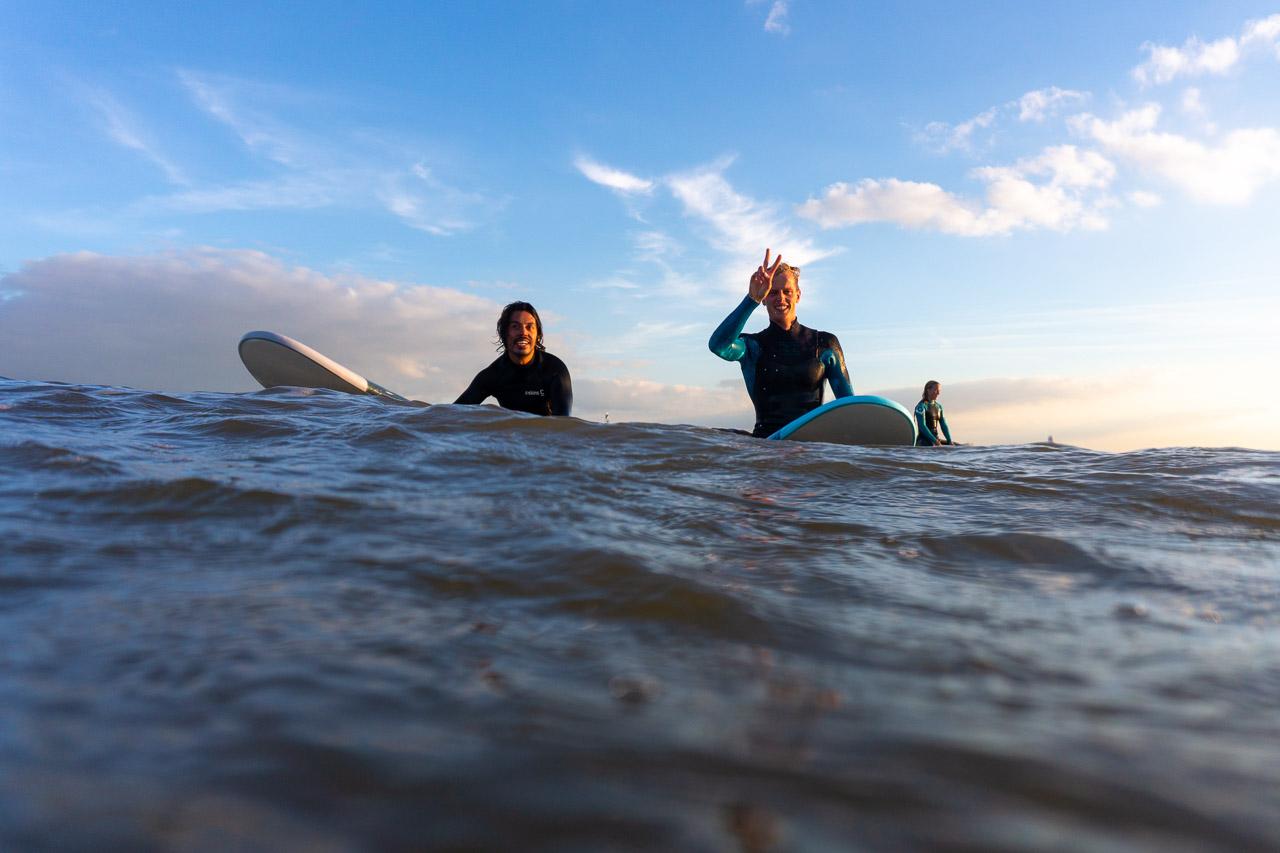 gezellig samen surfen