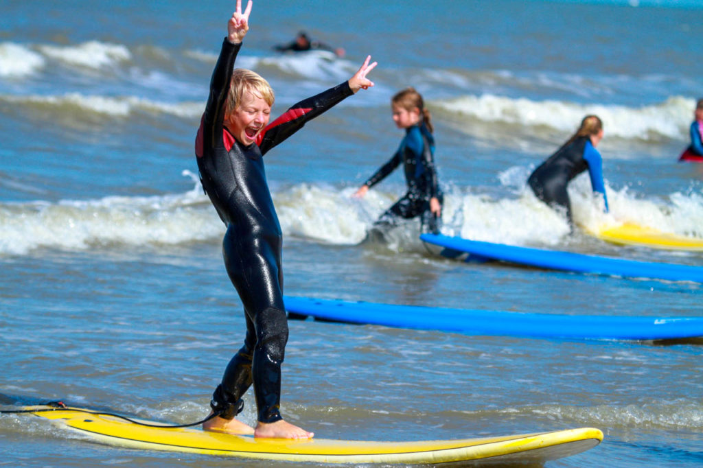 echt leren surfen