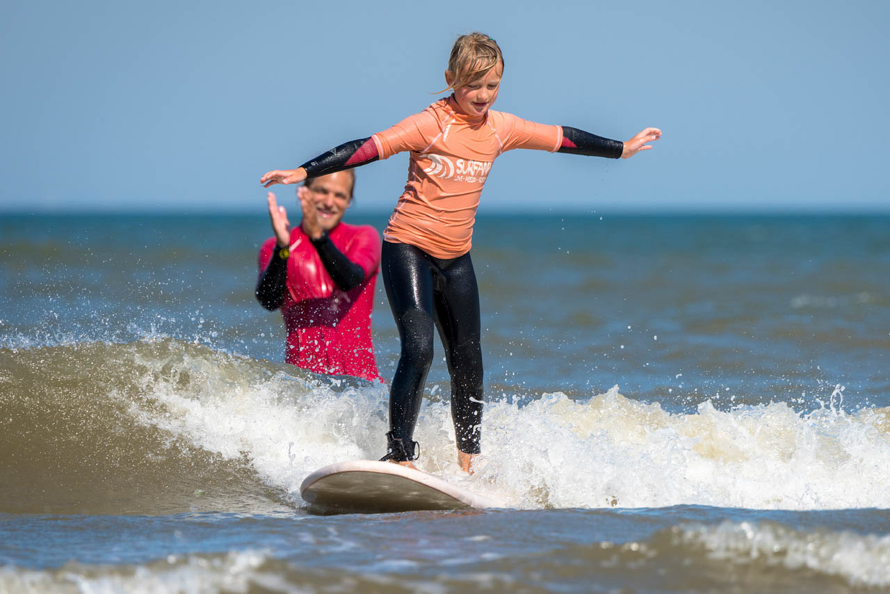 surfles kinderen zandvoort