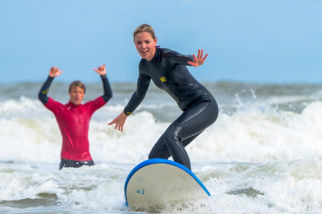 surfles volwassenen vlieland